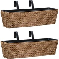 Garden Planters 2 pcs Water Hyacinth32257-Serial number