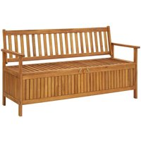 Garden Storage Bench 148 cm Solid Acacia Wood23151-Serial number