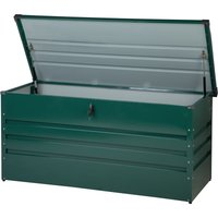 Garden Storage Box 132 x 62 cm Green CEBROSA