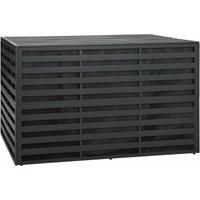 Garden Storage Box Aluminium 150x100x100 cm Anthracite - YOUTHUP