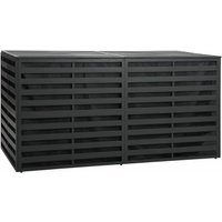 Garden Storage Box Aluminium 200x100x100 cm Anthracite - VIDAXL