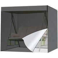Briday - Garden Swing Cover, Patio Swing Cover Protector Patio Furniture Seat UV Block Hammock Cover