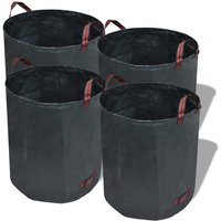 Garden Waste Bag Dark Green 4 pcs 272 L 150 g/sqm VD26372