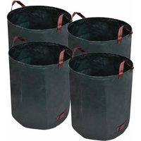 Zqyrlar - Garden Waste Bag Dark Green 4 pcs 272 L 150 g/sqm - Green
