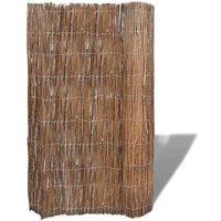 Willow Fence 300x150 cm - Brown - Vidaxl