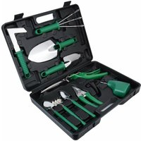 Briday - Gardening Tool Set, 10 Piece Stainless Steel Garden Tool Sets with Carrying Case, Gift for Gardening Lovers