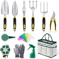 Gardening tools 12 pieces Garden tools with storage bag, watering can, gardening gloves