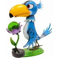 Metal Animal Lights / Solar Powered LEDs / Weatherproof Statues / Garden Decorations / Patio Ornaments (Toucan) - Gardenkraft
