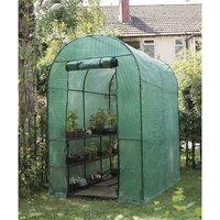 08957 Walk In Grow Arc Greenhouse Grow House and 2 Tier Shelving - Gardman