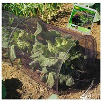 Gardman Strong Netting Grow Tunnel Polytunnel Cloche 3m Pest and Bird Protection