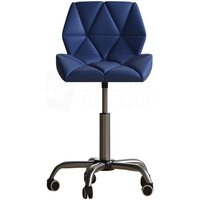 Geo Office Chair, Blue - HOME DISCOUNT