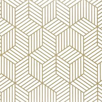 Bearsu - Geometric Hexagon Wallpaper Peel and Stick Wallpaper Removable Self Adhesive Wallpaper Vinyl Film Shelf Paper and Drawer Liner Roll for Home