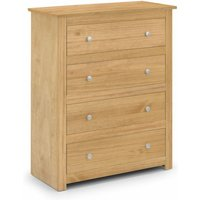 Gerard 4 Drawer Chest - Waxed Pine