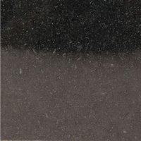 Gesdy Round kitchen dining table Granite, Terrazzo, Marble or Quartz tops - cast iron base Nero Assoluto (Polished Granite) Off White 90cm diameter