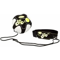 Get and Go Football Skill Trainer Black and Yellow