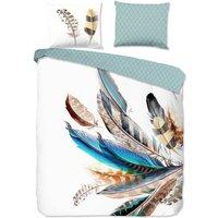 Duvet Cover FEATHER 135x200 cm Multicolour - Good Morning