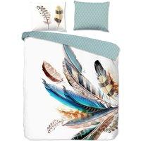 Good Morning Duvet Cover FEATHER 200x200/220 cm Multicolour - Multicolour