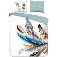 Good Morning Duvet Cover FEATHER 240x200/220 cm Multicolour - Multicolour