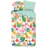 Good Morning Kids Duvet Cover SUMMER 140x200/220 cm Multicolour - Multicolour
