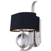 Elstead Gotham - 1 Light Indoor Wall Light Imperial Silver,