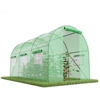 Serre de Jardin Tunnel 7m2 - 3,5x2m - Green Roof