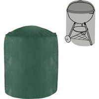 Green Bay - Greenbay Barbecue Cover, Dust-proof Anti-UV Polyethylene Outdoor BBQ Shelves Grill Cover (Diameter:58cm Height:77cm)
