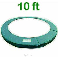 Greenbay Replacement Trampoline Surround Pad Foam Safety Guard Spring Cover Padding Pads Green 10FT