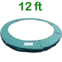 Greenbay Replacement Trampoline Surround Pad Foam Safety Guard Spring Cover Padding Pads Green 12FT