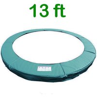 Greenbay Replacement Trampoline Surround Pad Foam Safety Guard Spring Cover Padding Pads Green 13FT