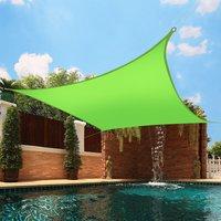 Greenbay Sun Shade Sail Garden Patio Party Sunscreen Awning Canopy 98% UV Block Square Light Green 3x3m