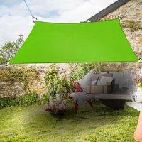 Greenbay Sun Shade Sail Garden Patio Party Sunscreen Awning Canopy 98% UV Block Square Light Green 3.6x3.6m