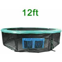Greenbay Trampoline Base Skirt Safety Net Enclosure Surround Universal Fit 12FT Trampoline - GREEN BAY