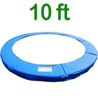 Greenbay Replacement Trampoline Surround Pad Foam Safety Guard Spring Cover Padding Pads Blue 10FT