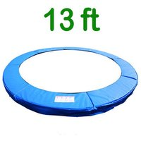 Greenbay Replacement Trampoline Surround Pad Foam Safety Guard Spring Cover Padding Pads Blue 13FT