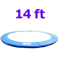 Greenbay Replacement Trampoline Surround Pad Foam Safety Guard Spring Cover Padding Pads Blue 14FT