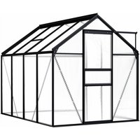 Zqyrlar - Greenhouse Anthracite Aluminium 4.75 m - Anthracite