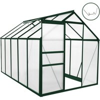 Greenhouse Polycarbonate 6ft x 10ft (Green)
