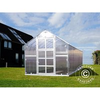 Greenhouse polycarbonate TITAN Classic 480, 14.4 m², 2.35x6.12 m, Silver