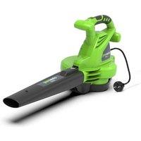 souffleur électrique GREENWORKS 2800W - GBV2800