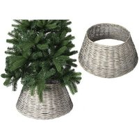 Christmas Willow Tree Skirt Grey 70CM X 28CM - PMS INTERNATIONAL