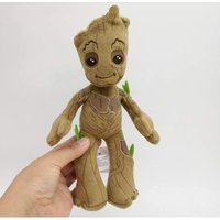 Briday - Groot Plush Dolls Toys 22cm Cute Marvel Avengers Guardians of The Galaxy Groot Stuffed Plush Toys Gifts Opppackage