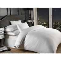 Grosvenor White 1000TC Oxford Housewife Pillowcase Satin Stripe Bedding Linen