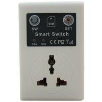 GSM Wall Socket Switch - £12 Roaming SIM Please [010-1609]