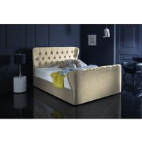 Furniturebox Uk - Hamilton Cream Malia Double Bed Frame