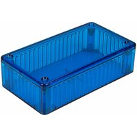 1591BTBU Polycarbonate Box 112x62x31 Blue - Hammond