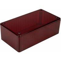 Hammond 1591CTRD Polycarbonate Box 120 x 65 x 40 Red