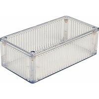 1591DTCL Polycarbonate Box 150 x 80 x 50mm Clear - Hammond