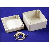 RP1060 Watertight Enclosure 85x80x55mm Polycarbonate Off White - Hammond