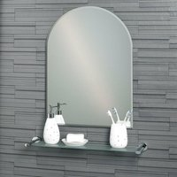 Hampton 700mm x 500mm Large Arched Mirror - WHOLESALE DOMESTIC