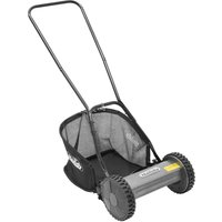 Handy HM Hand Push Cylinder Lawn Mower 30cm/12in Manual Rear Roller - THE HANDY